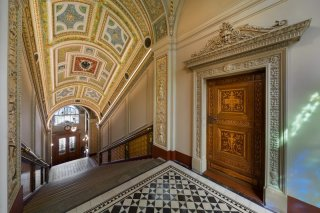 Uměleckoprůmyslové museum v Praze - interiér