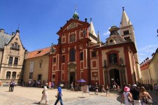Jiřský kláštera  a bazilika sv. Jiří