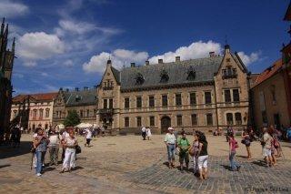 Pražský hrad - třetí nádvoří