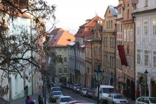 Praha 1 - Nerudova ulice horní část