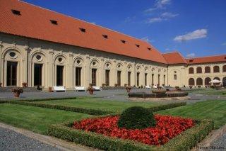 Zahrady Pražského hradu - zahrada před Jízdárnou