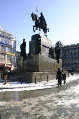 Svatý Václav na Václavském náměstí