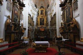 Kostel sv. Tomáše na Malé straně - vnitřek kostela