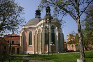 Kostel panny Marie a sv. Karla Velikého