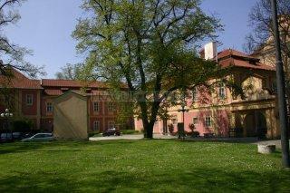 Kostel panny Marie a sv. Karla Velikého - muzeum Policie - areál