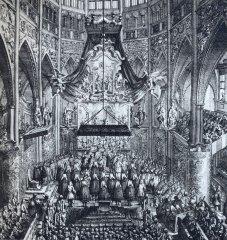 Korunovace v katedrále sv. Víta