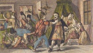 Drancování Židovského města Pandury v prosinci 1744
