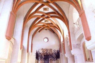 Pinkasova synagoga - interiér