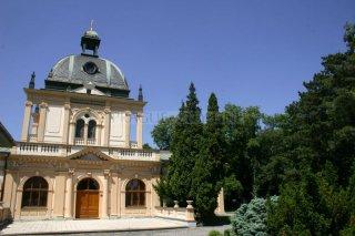 Nový židovský hřbitov - obřadní síň