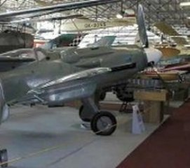 Letecké muzeum Kbely - Avia S-199 (čs. verze Messerschmitt Bf 109G/K) - stíhací letoun