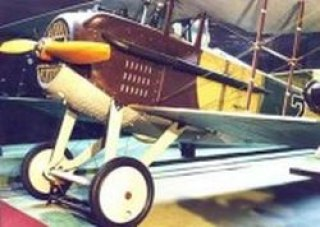 Letecké muzeum Kbely - SPAD S-VIIC.1 - stíhací letoun