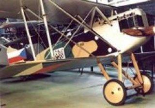 Letecké muzeum Kbely -Aero A-18 - stíhací letoun ČSR / 1923