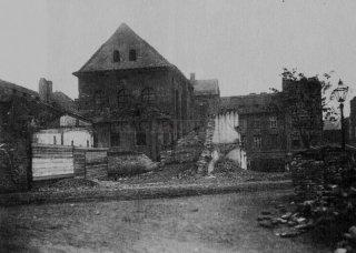 Cikánova synagoga kolem roku 1897