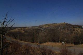 Divoká Šárka - pohled na údolí