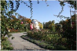 Petřín - Růžový sad a Štefánikova hvězdárna