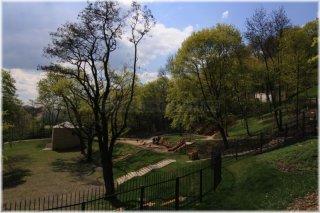 Petřín - zahrada Kinských dětské hřiště