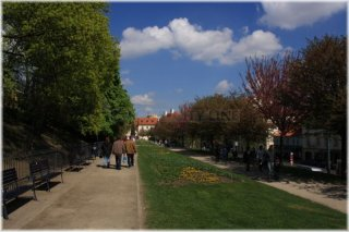 Zahrada Nebozízek - Jiřinkový sad