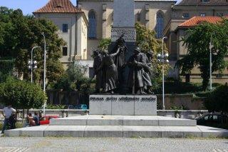Praha 2 - pomník legionářům