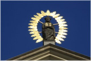Kostel sv. Ignáce a socha sv. Ignáce  a socha sv. Ignáce