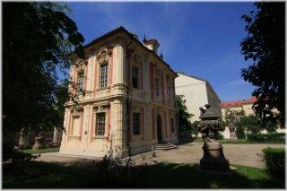 Michnův letohrádek(Amerika) a muzeum Antonína Dvořáka