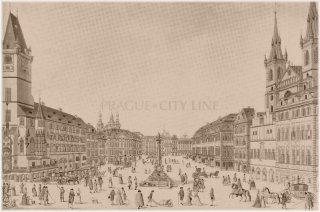 Staroměstské náměstí kolem roku 1793