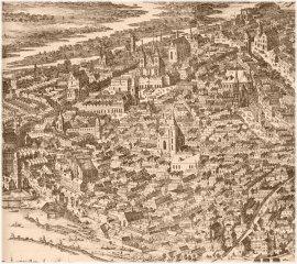 Staré Město Pražské kolem roku 1683