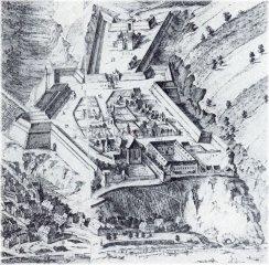 Vyšehrad - barokní pevnost (1683)