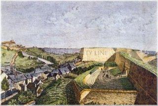 Vyšehrad - Cihelná brána  a Táborská silnice