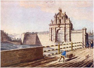 Vyšehrad - Leopoldova brána