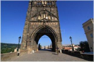 Karlův most a Staroměstská mostecká věž