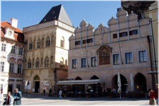 Praha 1 - Staroměstské náměstí - Týnská škola