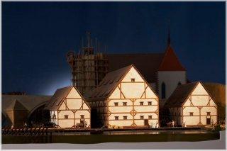 Muzeum Karlova mostu - model Karlova mostu