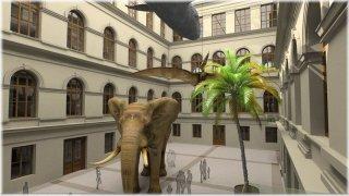 Druhé nádvoří muzea po rekonstrukci