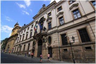 Praha 1 - Nerudova ulice - Thun Hohenštejnský palác