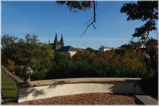 Pražský hrad - Jelení příkop - Masarykova vyhlídka