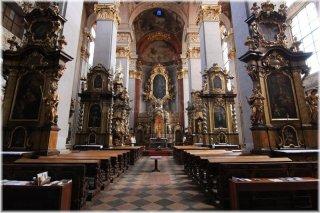 Praha 1 - kostel sv. Jiljí - interiér kostela
