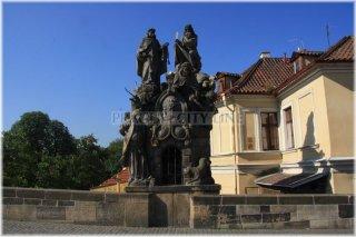 27. Sousoší sv. Jana z Mathy, felixe z Valois a Ivana