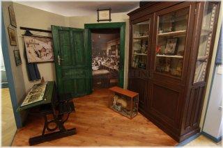 Národní pedagogické muzeum - pohled do školní třídy minulého století