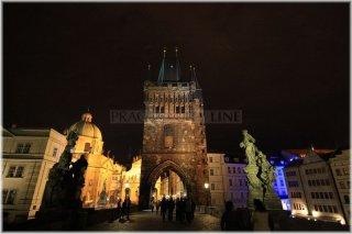 Praha 1 - Staroměstská mostecká věž a Karlův most