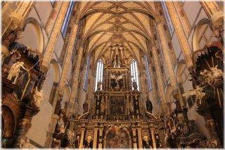 Kostel Panny Marie Sněžné - interiér