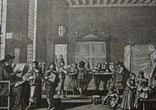 Chlapecá škola v 17 století