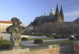 Pražský hrad - zahrady