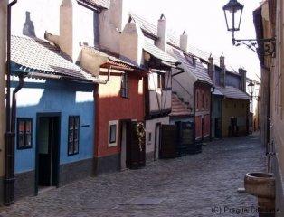 Pražský hrad - Zlatá ulička