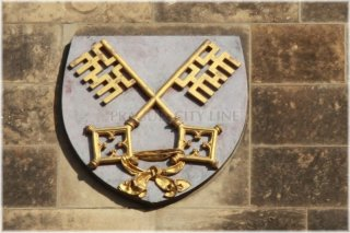 Praha 2 Vyšehrad - znak Vyšehradské kapituly