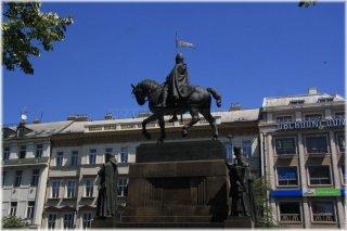 Pha1 - pomník sv. Václava na Václavském náměstí
