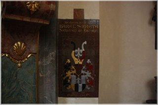 Praha 1 - Kostel sv. Havla - náhrobek Karla Škréty
