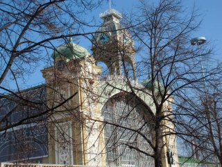 Praha 7 - Výstaviště v Holešovicích - Průmyslový palác