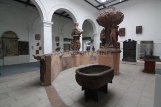 Praha 7 - výstaviště - Lapidárium Národního muzea - Krocínova kašna co stála na Staroměstském náměstí