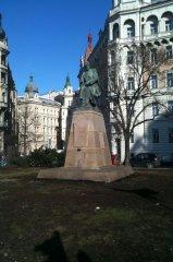 Praha 2 - socha Aloise Jiráska