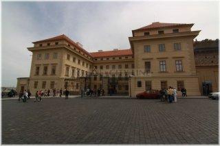 Praha 1 - Hradčanské náměstí - Salmovský palác
